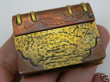 briquet poilu char WW1 battle Cambrai1917 tank lighter trench art casque/bayonet
