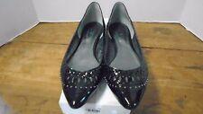 Belle Sigerson Morrison Valen Women's Shoes Black Patent Ballet Kid Flat New 9.5
