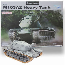 DRAGON 1/35 BLACK LABEL M103A2 HEAVY COLD WAR BATTLE TANK