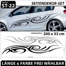 Cartribal Tattoo  Aufkleber Car Tuning Styling Vinyl Sticker . ST-22