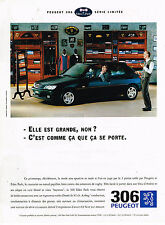 PUBLICITE ADVERTISING 114  1995  PEUGEOT 306 série limitée EDEN PARK