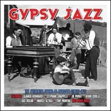2 CD BOX GYPSY JAZZ REINHARDT GRAPPELLI PRIVAT CROLLA VISEUR AZZOLA MURENA etc