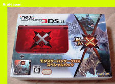 Monster Hunter Cross X special pack Nintendo 3DS LL XL console Japan edtion