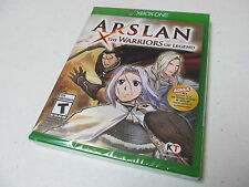 Brand New Sealed Arslan: The Warriors of Legend Microsoft Xbox One, 2016 W/bonus