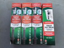 Lot Of 4 Fluidmaster Universal Toilet Fill Valve 400A