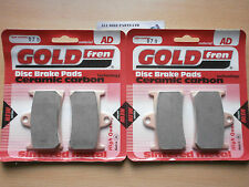 YAMAHA YZF-R6 (2002-2003)   SINTERED FRONT BRAKE PADS (2 pair) *GOLDFREN*