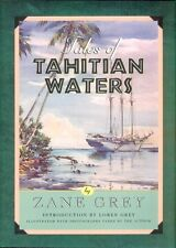 GREY ZANE FISHING BOOK TALES OF TAHITIAN WATERS PACIFIC OCEAN bargain