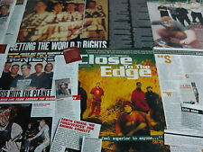 EARTH CRISIS - MAGAZINE CUTTINGS COLLECTION (REF T20)
