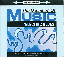 """CD- Definition of Music: 'Electric Blues'- Enhanced """"Listen And Learn""""- Digipack"""
