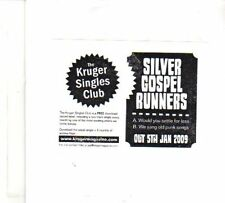 (DR199) Silver Gospel Runners, Would You Settle For Less - 2009 CD