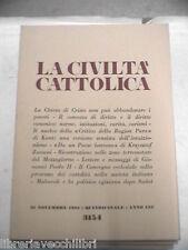 LA CIVILTA CATTOLICA 1981 Anno 132 Volume IV Ragion Pura Krzysztof Zanussi libro