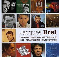 Integrale Des Albums Originaux - Jacques Brel (2010, CD NEUF)13 DISC SET