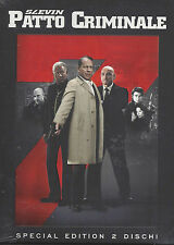 2 Dvd **SLEVIN PATTO CRIMINALE** Bruce Willis Morgan Freeman Lucy Liu nuovo 2006
