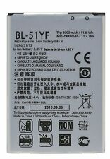 Replacement Battery for LG G4 3000mA BL-51YF H815 H811 H810 VS988 VS999 US991