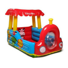 Fisher Price Colorful Train Ball Pit With Horn And 25 Play Balls | 93503E-BW