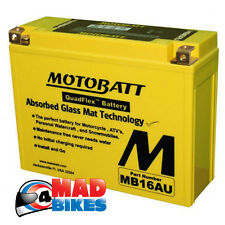 MOTOBATT *AGM* SUPER SEALED GEL BATTERY DUCATI 916  20% EXTRA STARTING POWER