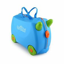 Trunki Ride-on Suitcase - Terrance (Blue) KIDS FUN TRAVEL BRAND NEW FREE P&P