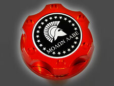 DODGE CHRYSLER VIPER V8 MOLON LABE SPARTAN 300 HEMI BILLET ENGINE OIL CAP RED