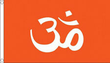 5' x 3' Hindu Flag Hindi Hinduism India Indian Religion Flags Asia Asian  Banner