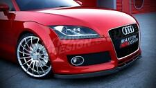 FRONT SPLITTER (TEXTURED) FOR AUDI TT MK2
