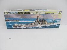 Mes-44823 105 Aoshima 1:700 North Carolina kit abierto,