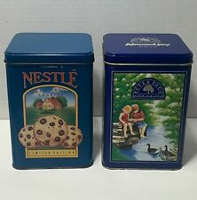 Nestle Toll House Cookies & Almond Joy Peter Paul Classics Tins Lot of 2