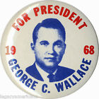 1968 George C. Wallace for President Campaign Button (5002)