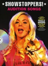 Audition Songs Female Singers Showstoppers Learn to SING PVG Music Book