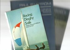 RACING DINGHY & KEELBOAT EXPERT SAILING 3 Books HC Competition Techniques SAIL