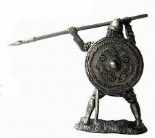 tin 54mm VR47 Viking with a spear, 9-10 century 1/32