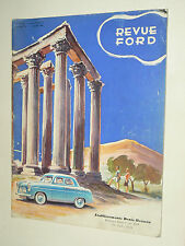 Revue FORD N° 19  1/ 1954 édition Belgique  catalogue  brochure auto car camion