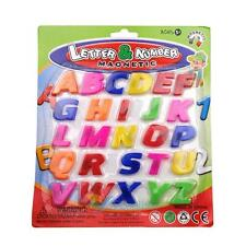 26PCS Colorful Magnetic Numbers & Letters Teaching Fridge Magnets Alphabet Sets