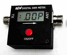 REDOT 1051A Mini Digital VHF UHF SWR Power Meter  100-500 MHz 120W AM/FM/CW