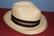 Churchill NOS new/old stock PANAMA men's size 6 7/8 hat NICE LOOKING