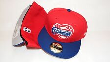 NWT NEW ERA HAT CAP FITTED LOS ANGELES CLIPPERS SIZE 7 1/8 RED BLUE NBA