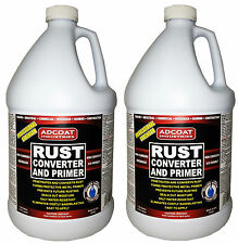 Rust Converter and Primer, 2 Gallon - One Step to Remove Rust and Prime Surface*