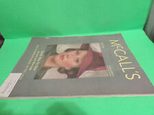MARCH 1938 MCCALL'S MAGAZINE GREAT FASHIONS & ADS COCA COLA CAMPBELLS SOUPS +++