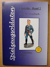 Spielzeugsoldaten Elastolin Band 2 Masse Soldaten Katalog Preise Buch Book
