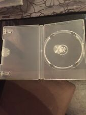 3 Rigid Plastic DVD/CD cases With Sleeve Cover NEW