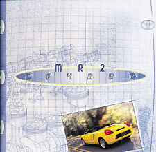 2000 2001 Toyota Mr2 Spyder 18-page Original Car Sales Brochure Catalog