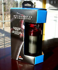 MSR MiniWorks EX Microfilter for Outdoors Camping Backpacking Water Filtration