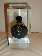 BOB MACKIE PERFUME BOTTLE IN LUCITE ACRYLIC DISPLAY