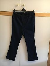 Yours Size 22 Elasticated Jeans - Short