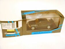 Mercedes W 201 190 E EVO STREET blue black met, Minichamps 3000 B in 1:43 boxed!