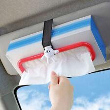 New DISNEY Mickey Mouse Sun Visor & Headrest Tissue Box Holder Car Accessories