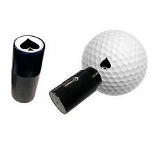 ACE OF SPADES - ASBRI GOLF BALL STAMPER, GOLF BALL MARKER - GOLF GIFT OR PRIZE