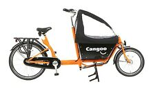 Bakfiets Cangoo Downtown 2 KinderTransportrad Lastenfahrrad 3 G Shimano Nexus or