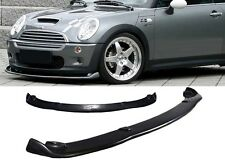 HM STYLE FRONT BUMPER LIP PROTECTOR SPOILER POLY BODY KIT FOR 02-06 MINI COOPER