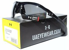 UNDER ARMOUR Core 2.0 POLARIZED Sunglasses Shiny Black/Gray Storm NEW $160