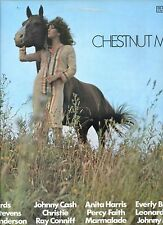 CHESTNUT MARE various art BYRDS johnny cash LEONARD COHEN EA. EX LP UK